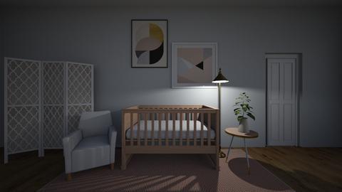 Mary Jane - Kids room - by Jane Rawle