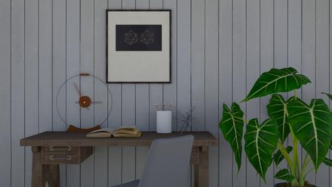 Desk Space - Minimal - Office - by cutebaxter123