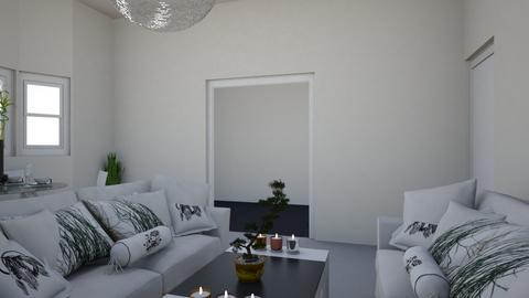 Living 3 - Minimal - Living room - by nramsamy1994