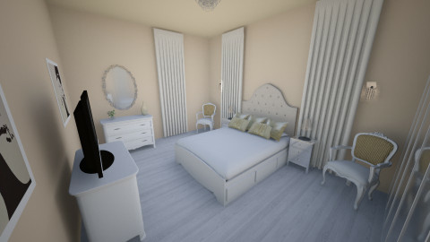 leah's design 2 - Bedroom - by Oswin