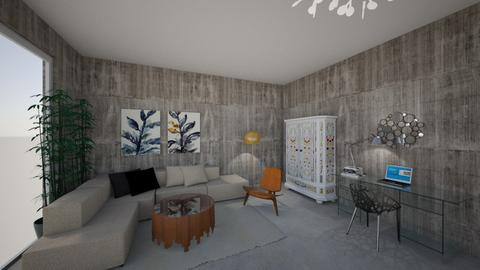 living room1 - Eclectic - Living room - by K_Lilla