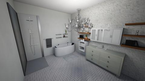 My simple bathroom design - Modern - Bathroom - by Wolf_Lover