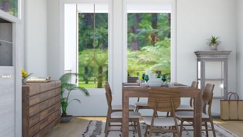 Beach House 7 - Modern - Dining room - by millerfam