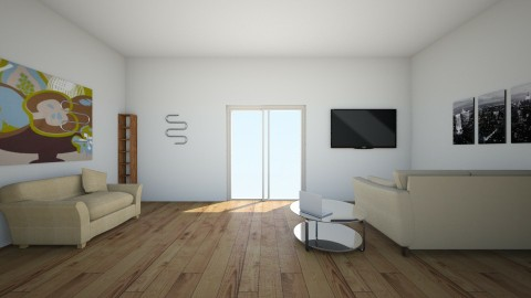 future living room  - Living room - by emiliabee