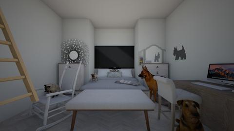 Fancy - Bedroom - by Izzy Gardener