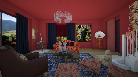 Bowie opulence - Glamour - Living room - by Tree Nut