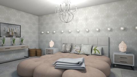 Blushing Bedroom - by LaughingDonut