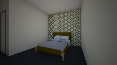 70s Inspired Hotel Room - Retro - Bedroom - by gromblin