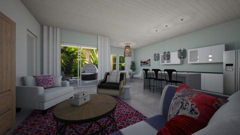 Villa - Living room - by Dwellings LLC