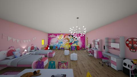 kids girl room - Glamour - Kids room - by Stavroula Chatzina
