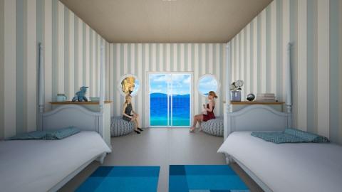 blue sister room - by ssohurricane