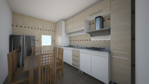 Bucatarie 6 - Rustic - Kitchen - by Ionut Corbu