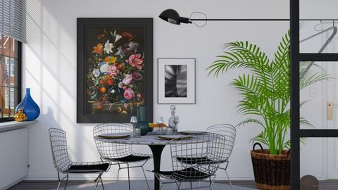 Simplicity - Minimal - Dining room - by HenkRetro1960