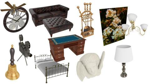 antique moodboard 2 - by tinkywinkyy_