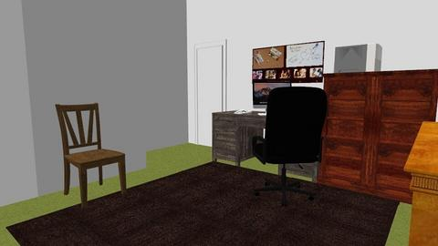 Kat s Office - Eclectic - Office - by alonatech_2nd