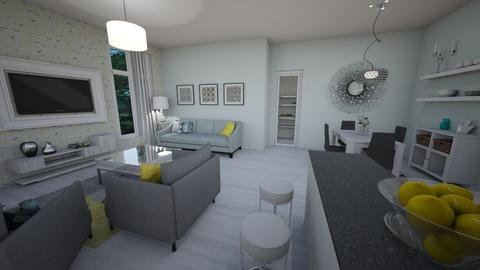Blue_Yellow Template Room - Modern - by pfeilswdm