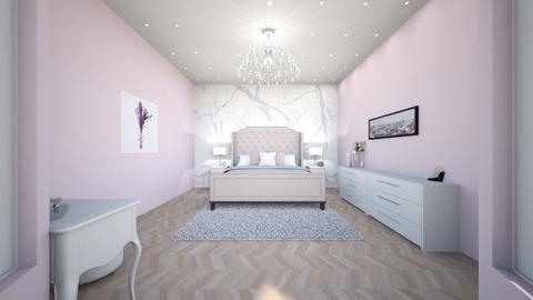 Paris Model Bedroom - Glamour - Bedroom - by tcooney