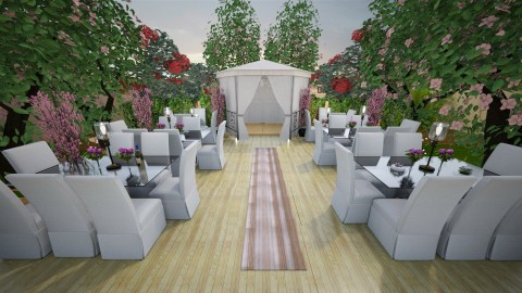 The Garden Brunch - Glamour - Garden - by UloveTashi Designs