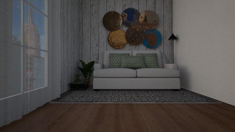 contemporary - Vintage - Living room - by ukuleledane