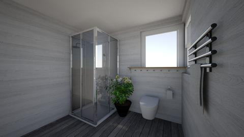 rustic bathroom1 - Rustic - Bathroom - by Orangova
