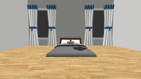 Floor Bed - Bedroom - by Tiannab24