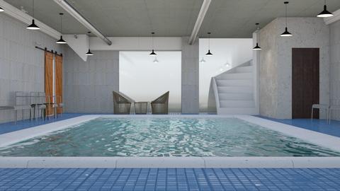 pool - by MariaMunoz