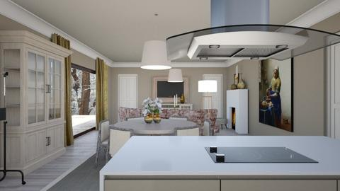 keuken nieuw - Dining room - by chania