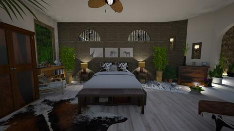 Urban Jungle - Bedroom - by ElleP