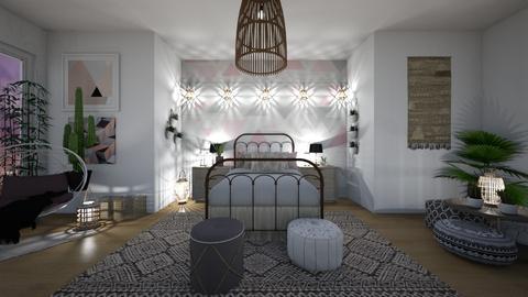 Bohemian Bedroom - by tekoa06