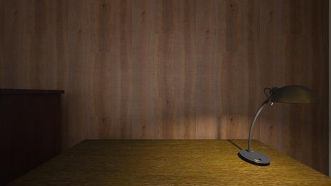 Amaro My Desk - Bedroom - by WestVirginiaRebel