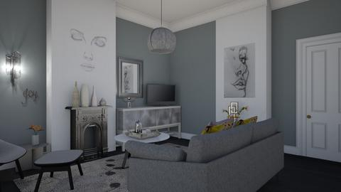 Quiet space  - Modern - Living room - by augustmoon