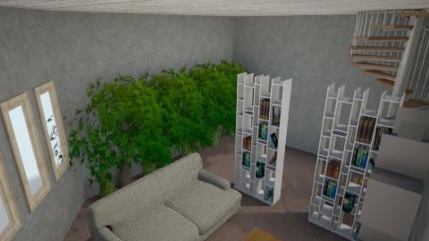 Concrete - Living room - by Carson Meek