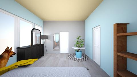 bedroom plant  - Bedroom - by kdockbro