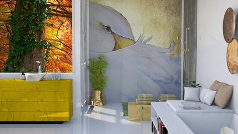 swan - Bathroom - by Gel Colbert