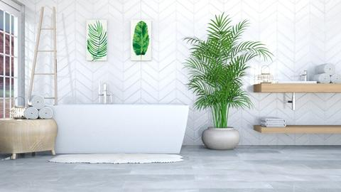 relax  - Modern - Bathroom - by NEVERQUITDESIGNIT