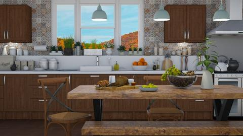 Kitchen Vignette 3 - Kitchen - by GraceKathryn