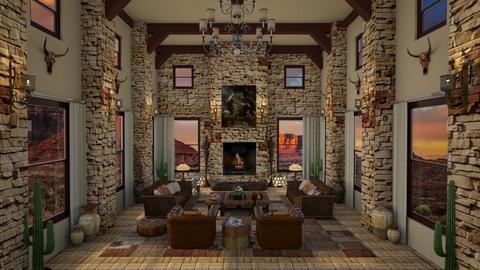 Design 433 Canyon Inspired Living - Living room - by Daisy320