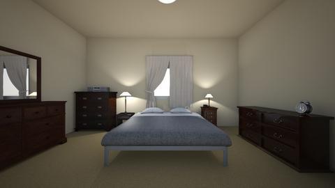 Small Condo Home - Bedroom - by WestVirginiaRebel