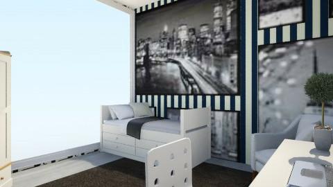 bedroomPartOne - Bedroom - by monikatikitka