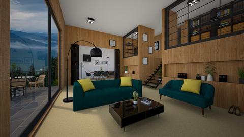 Lemon - Living room - by ArtHousedeco
