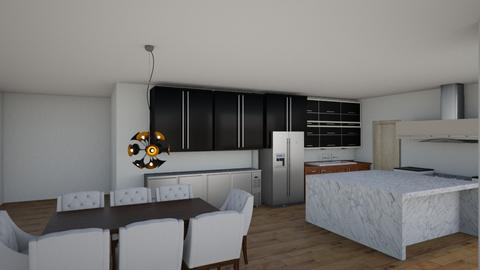 joy kitchen to scale - Kitchen - by NielsonInteriors