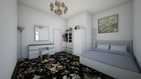apt bedroom - Bedroom - by chloebear