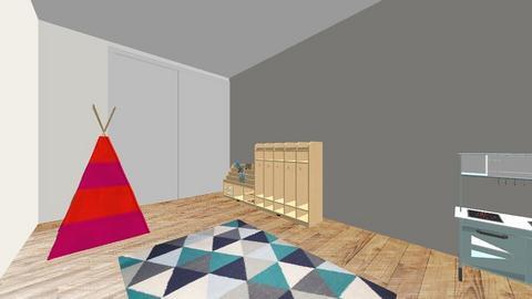 Basement - Bathroom - by Alyjorgy