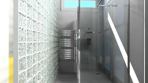 Salle de bain 2 - Bathroom - by Yellow Moon Design