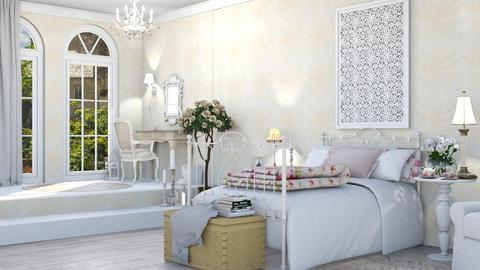 bedroom shabby - by Lo89