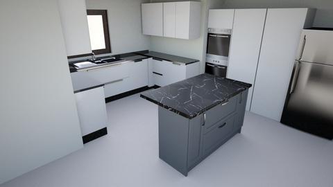 Cozinha_A - Modern - Kitchen - by TntLuks
