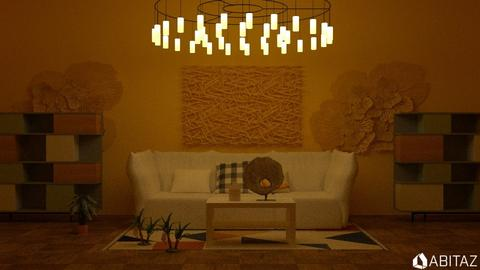 Yellow - Living room - by DMLights-user-2134665