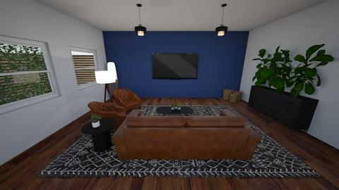Boho Modern Living Area - Living room - by SarahJalufkaDesign