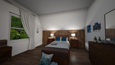 Chambre - Bedroom - by Chamallow