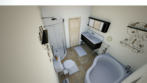 New master and half bath - Bathroom - by Bluefreeze